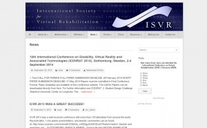 ISVR News Page with a sample poll visible in sidebar